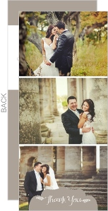 Simply Sweet Photo Grid Thank You Card