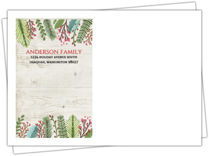 Simple Greetings Holiday Envelope
