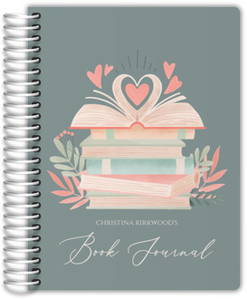 Pink Watercolor Bar Mitzvah Journal