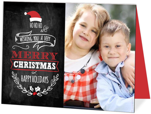 Ho Ho Ho Holiday Photo Card
