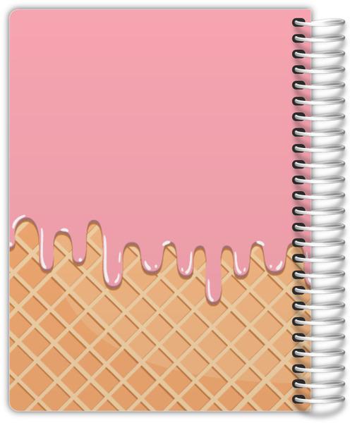 Ice Cream Melt Weekly Planner