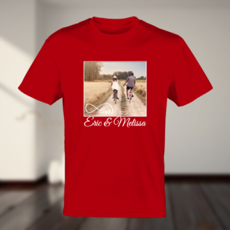 Love Personalized Photo Tshirt