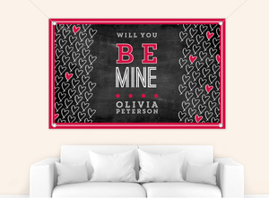 Be Mine Custom Banner