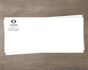 Simple Line and Logo Business Envelope