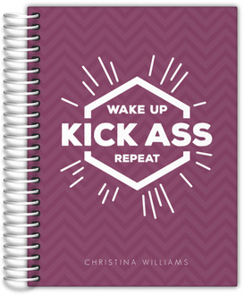 Wake Up Chevron Daily Planner