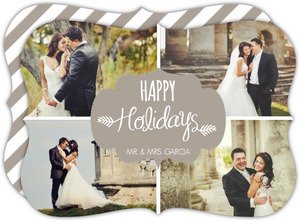 Simply Sweet Photo Grid Holiday Photo Card