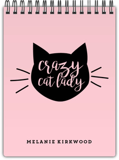 Cat Lady Notebook
