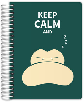 Keep Calm And Zzz Journal