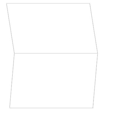 Watercolor Geometric Pattern Thank You Card