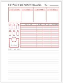 Custom Fitness Grid Pages