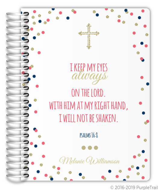 Bible Verse Cheerful Confetti Mom Planner