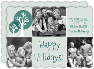 Simple Holiday Tree Christmas Card