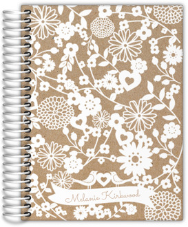Floral Cutout Family Planner