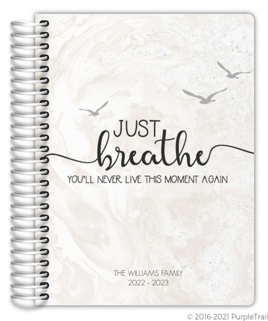 Just Breathe Mom Planner