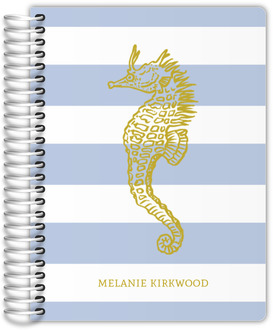 Nautical Seahorse Mom Planner
