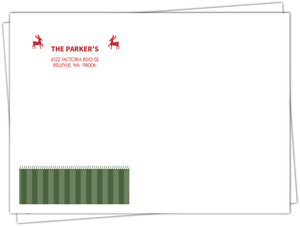 Holiday Herald Christmas Envelopes