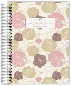 Vintage Blossoms Mom Planner
