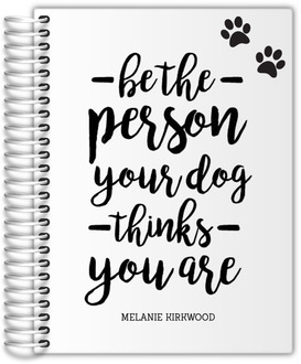 Dog Person Weekly Planner