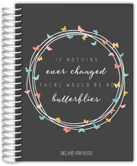 Butterfly Quote Custom Mom Planner
