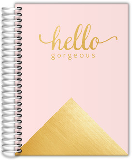 Faux Foil Gold Hello Gorgeous Mom Planner