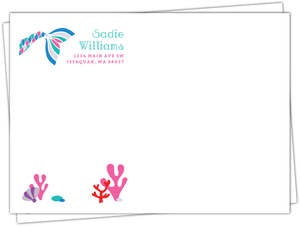 Let's Be Mermaids Custom Envelope