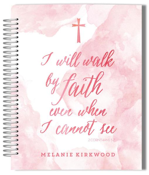 Walk By Faith Planner