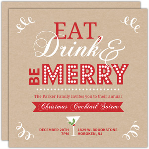Holiday Party Invitations | PurpleTrail