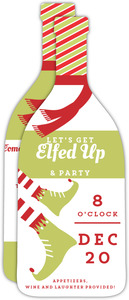 Elfed Up Holiday Party Invitation