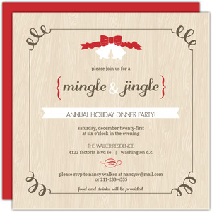 Mingle & Jingle Holiday Dinner Party