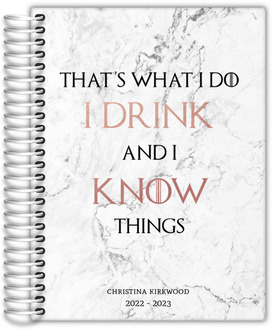 Marble Drink  Know Things Student Planner