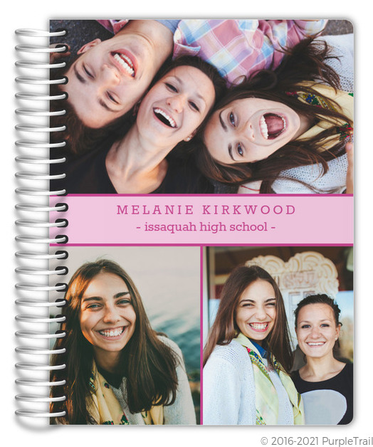 simple photo collage custom student planner student planners