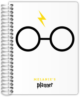 Cute Round Glasses Student Planner