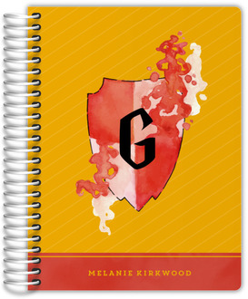 Red & Yellow Shield Student Planner