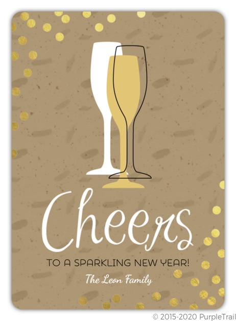 new years card wording ideas