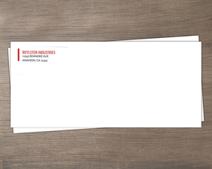 Modern Bar Business Envelope