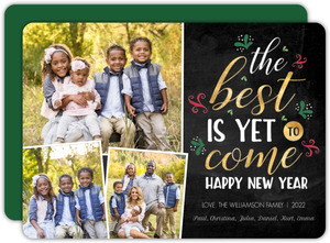 Best Is Yet To Come New Years Card
