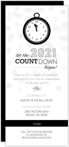 New Year s Eve Countdown Party Invitation