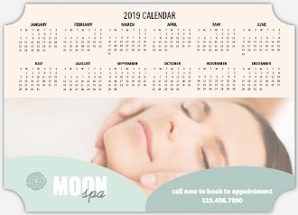 Spa Business Magnet Calendar