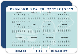 Clean Health Business Calendar Card