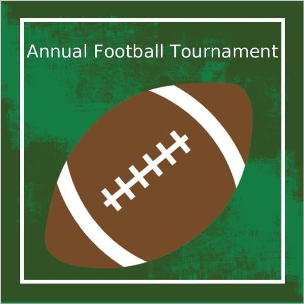 Family Football Tournament Party Invitation Football Invitations