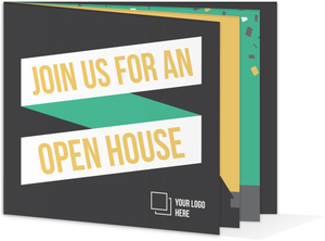 Graphic Banner Business Open House Invitation