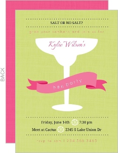 Pink And Green Margarita Bachelorette Party