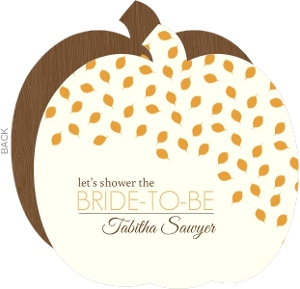 Bridal shower invitations beautiful custom wedding stationery whimsical leaves bridal shower invite filmwisefo