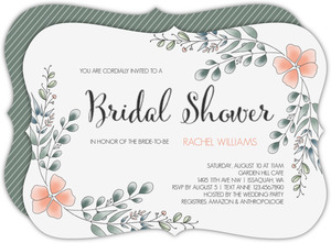 Eucalyptus Bridal Shower Invitation