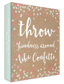 Kindness Confetti Teacher 3 Ring Binder