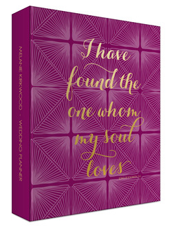 Bible Verse 3 Ring Binder Wedding Planner