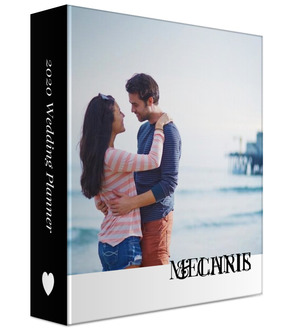 Modern Type 3 Ring Binder Wedding Planner