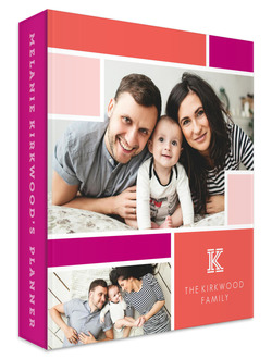 Colorblock Photo 3 Ring Mom Planner