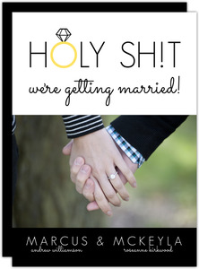 We Are Getting Married Engagement Party Invitation