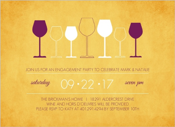 Wine Party Invitations Wine Tasing Invitation